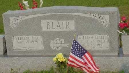BLAIR, WILLIAM LESLIE - Fulton County, Arkansas | WILLIAM LESLIE BLAIR - Arkansas Gravestone Photos