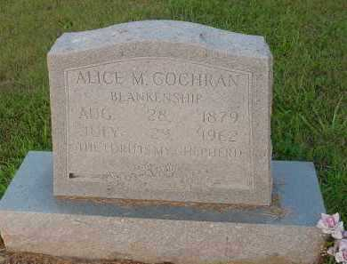 BLANKENSHIP, ALICE M. - Fulton County, Arkansas | ALICE M. BLANKENSHIP - Arkansas Gravestone Photos