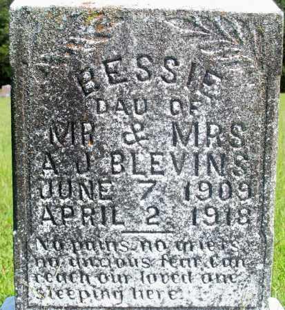 BLEVINS, BESSIE - Fulton County, Arkansas | BESSIE BLEVINS - Arkansas Gravestone Photos