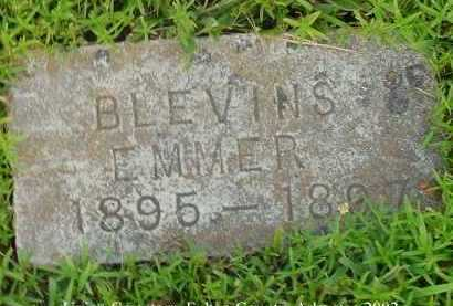 BLEVINS, EMMER - Fulton County, Arkansas | EMMER BLEVINS - Arkansas Gravestone Photos