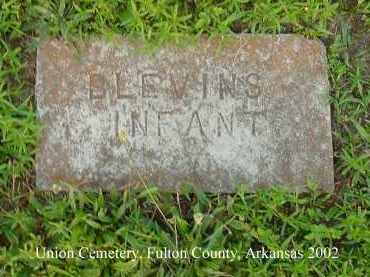 BLEVINS, INFANT (2) - Fulton County, Arkansas | INFANT (2) BLEVINS - Arkansas Gravestone Photos