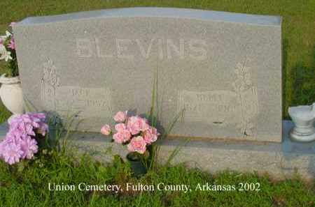 "BLEVINS, ANDREW JACKSON ""JACK"" - Fulton County, Arkansas 