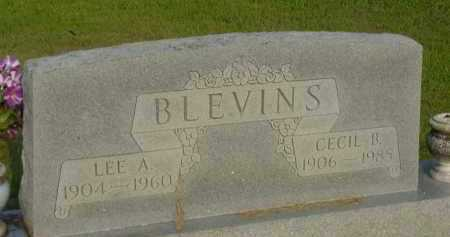 BLEVINS, LEE A. - Fulton County, Arkansas | LEE A. BLEVINS - Arkansas Gravestone Photos