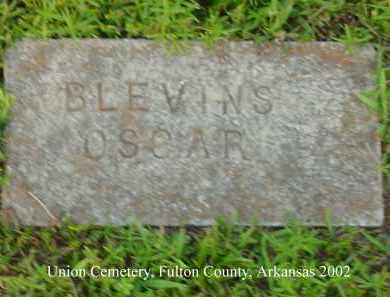 BLEVINS, OSCAR - Fulton County, Arkansas | OSCAR BLEVINS - Arkansas Gravestone Photos