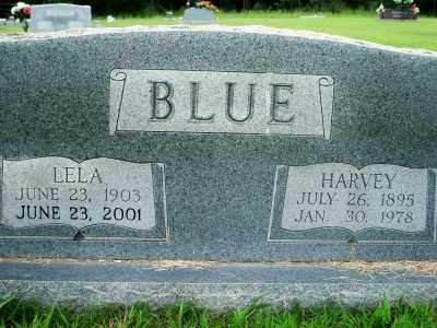 BLUE, LELA - Fulton County, Arkansas | LELA BLUE - Arkansas Gravestone Photos