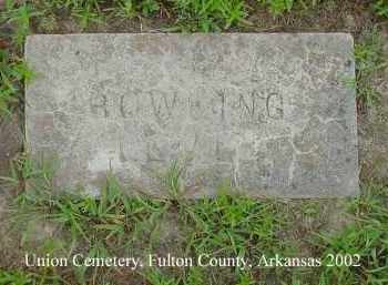 BOWLING, LEVI - Fulton County, Arkansas | LEVI BOWLING - Arkansas Gravestone Photos