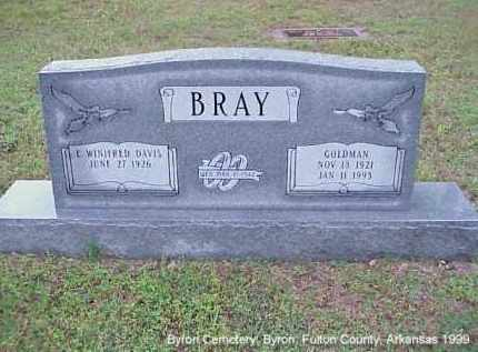 BRAY, GOLDMAN - Fulton County, Arkansas | GOLDMAN BRAY - Arkansas Gravestone Photos