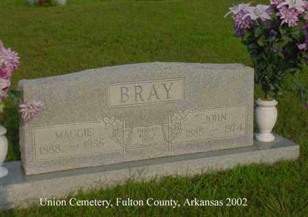 COCHRAN BRAY, MAGGIE ALMA - Fulton County, Arkansas | MAGGIE ALMA COCHRAN BRAY - Arkansas Gravestone Photos