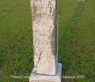 BRAY, PETER - Fulton County, Arkansas | PETER BRAY - Arkansas Gravestone Photos