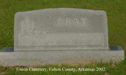 BRAY, SERENA BELLE - Fulton County, Arkansas | SERENA BELLE BRAY - Arkansas Gravestone Photos