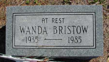 BRISTOW, WANDA - Fulton County, Arkansas | WANDA BRISTOW - Arkansas Gravestone Photos