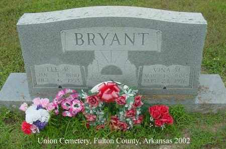 BRYANT, LEE R. - Fulton County, Arkansas | LEE R. BRYANT - Arkansas Gravestone Photos