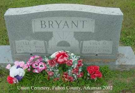 BRYANT, VINA M. - Fulton County, Arkansas | VINA M. BRYANT - Arkansas Gravestone Photos