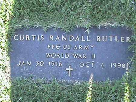 BUTLER  (VETERAN WWII), CURTIS RANDALL - Fulton County, Arkansas | CURTIS RANDALL BUTLER  (VETERAN WWII) - Arkansas Gravestone Photos