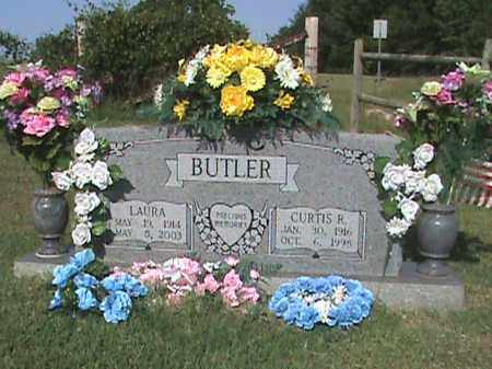 BUTLER, LAURA - Fulton County, Arkansas | LAURA BUTLER - Arkansas Gravestone Photos