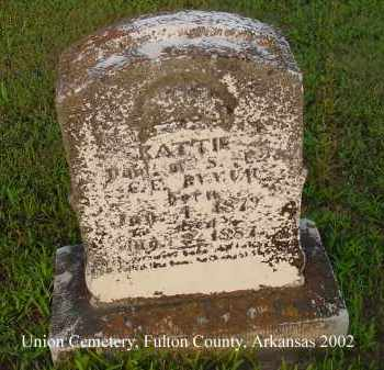 "BYNAM, CATHERINE ""KATTIE"" - Fulton County, Arkansas 