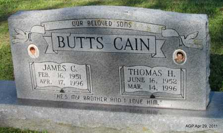 CAIN, THOMAS H - Fulton County, Arkansas | THOMAS H CAIN - Arkansas Gravestone Photos