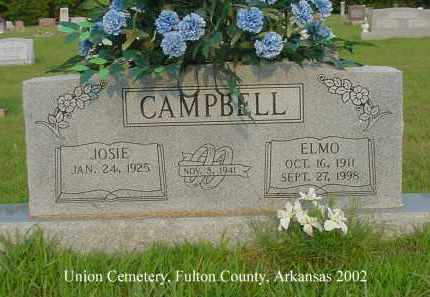CAMPBELL, ELMO - Fulton County, Arkansas | ELMO CAMPBELL - Arkansas Gravestone Photos