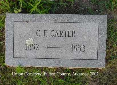 CARTER, COLONEL F. - Fulton County, Arkansas | COLONEL F. CARTER - Arkansas Gravestone Photos