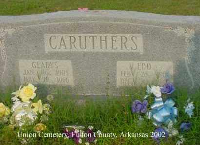 CARUTHERS, EDD - Fulton County, Arkansas | EDD CARUTHERS - Arkansas Gravestone Photos