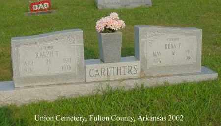 CARUTHERS, REBA F. - Fulton County, Arkansas | REBA F. CARUTHERS - Arkansas Gravestone Photos