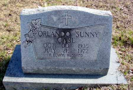 CASE, ORLANDO SUNNY - Fulton County, Arkansas | ORLANDO SUNNY CASE - Arkansas Gravestone Photos