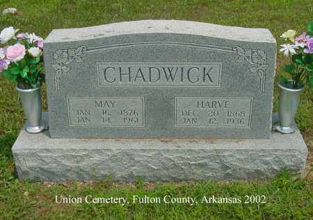 CHADWICK, HARVE - Fulton County, Arkansas | HARVE CHADWICK - Arkansas Gravestone Photos