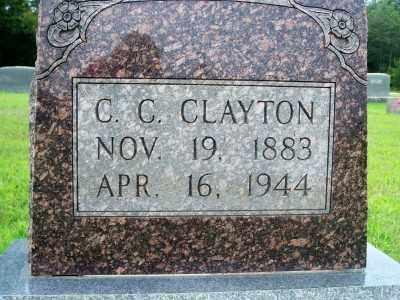 CLAYTON, CLARENCE CALVIN - Fulton County, Arkansas | CLARENCE CALVIN CLAYTON - Arkansas Gravestone Photos
