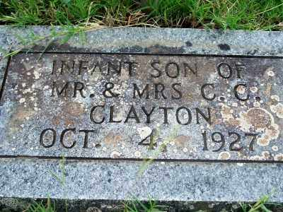 CLAYTON, INFANT SON - Fulton County, Arkansas | INFANT SON CLAYTON - Arkansas Gravestone Photos