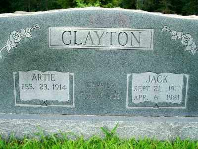 CLAYTON, JACK - Fulton County, Arkansas | JACK CLAYTON - Arkansas Gravestone Photos