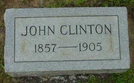 CLINTON, JOHN - Fulton County, Arkansas | JOHN CLINTON - Arkansas Gravestone Photos