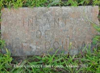 COCHRAN, INFANT - Fulton County, Arkansas | INFANT COCHRAN - Arkansas Gravestone Photos