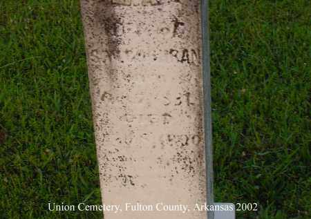 LIVINGSTON COCHRAN, MARTHA A. - Fulton County, Arkansas | MARTHA A. LIVINGSTON COCHRAN - Arkansas Gravestone Photos