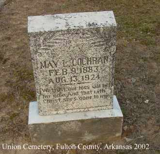 COCHRAN, MAY LUCY - Fulton County, Arkansas | MAY LUCY COCHRAN - Arkansas Gravestone Photos