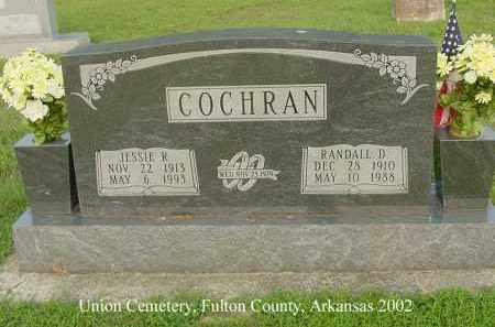 COCHRAN, RANDALL DAVIS - Fulton County, Arkansas | RANDALL DAVIS COCHRAN - Arkansas Gravestone Photos