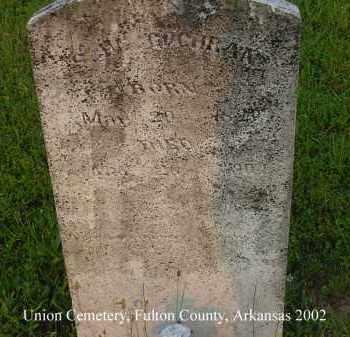 COCHRAN, SAMUEL WHARTON - Fulton County, Arkansas | SAMUEL WHARTON COCHRAN - Arkansas Gravestone Photos