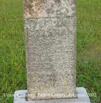 COCHRAN, VERLIN - Fulton County, Arkansas | VERLIN COCHRAN - Arkansas Gravestone Photos