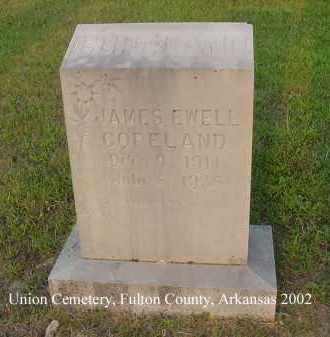 COPELAND, JAMES EWELL - Fulton County, Arkansas | JAMES EWELL COPELAND - Arkansas Gravestone Photos