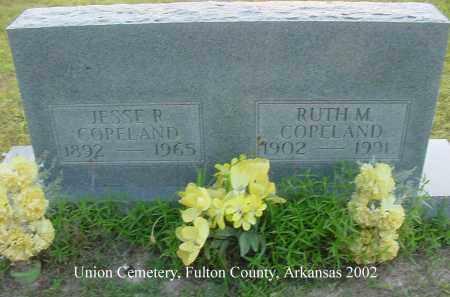 COPELAND, RUTH M. - Fulton County, Arkansas | RUTH M. COPELAND - Arkansas Gravestone Photos