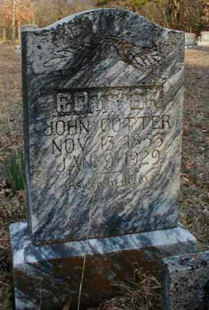 COTTER, JOHN ROBERT - Fulton County, Arkansas | JOHN ROBERT COTTER - Arkansas Gravestone Photos