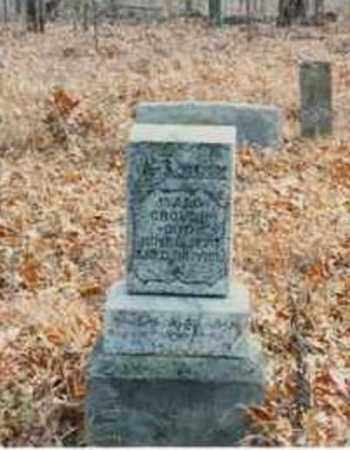 CROUCH, ISAAC RICHARD - Fulton County, Arkansas | ISAAC RICHARD CROUCH - Arkansas Gravestone Photos