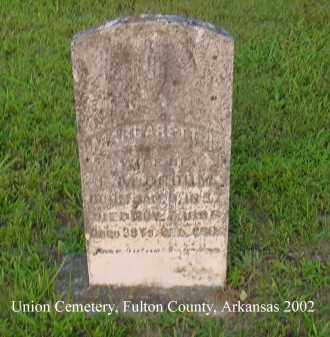 CROOM, MARGARET I. - Fulton County, Arkansas | MARGARET I. CROOM - Arkansas Gravestone Photos