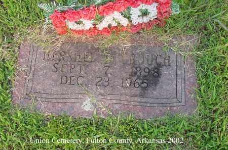 CROUCH, HERSHEL D. - Fulton County, Arkansas | HERSHEL D. CROUCH - Arkansas Gravestone Photos