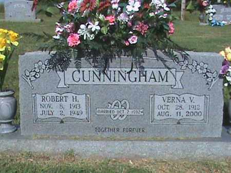 CUNNINGHAM, ROBERT H. - Fulton County, Arkansas | ROBERT H. CUNNINGHAM - Arkansas Gravestone Photos
