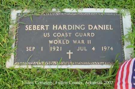 DANIEL  (VETERAN WWII), SEBERT HARDING - Fulton County, Arkansas | SEBERT HARDING DANIEL  (VETERAN WWII) - Arkansas Gravestone Photos