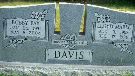 DAVIS, BOBBY FAY - Fulton County, Arkansas | BOBBY FAY DAVIS - Arkansas Gravestone Photos