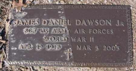 DAWSON, JR (VETERAN WWII), JAMES DANIEL - Fulton County, Arkansas | JAMES DANIEL DAWSON, JR (VETERAN WWII) - Arkansas Gravestone Photos
