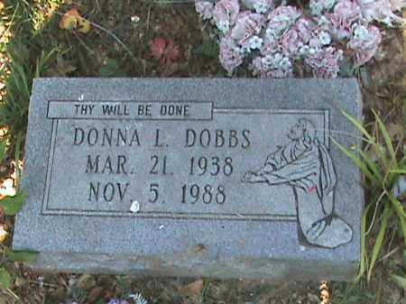 DOBBS, DONNA L - Fulton County, Arkansas | DONNA L DOBBS - Arkansas Gravestone Photos