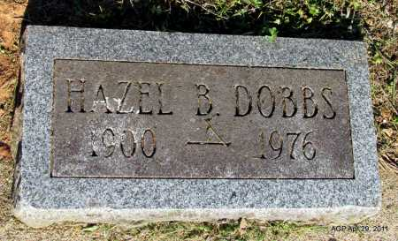 DOBBS, HAZEL B - Fulton County, Arkansas | HAZEL B DOBBS - Arkansas Gravestone Photos