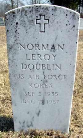 DOUBLIN (VETERAN KOR), NORMAN LEROY - Fulton County, Arkansas | NORMAN LEROY DOUBLIN (VETERAN KOR) - Arkansas Gravestone Photos